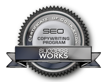 SEO copywriting certification by Success Works