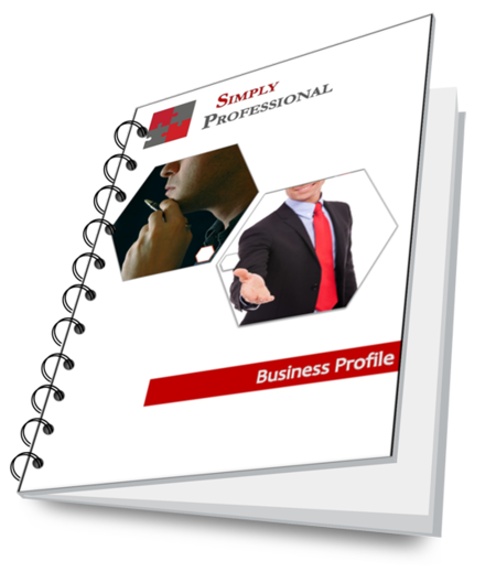 Simply Professional - Business Profile Cover